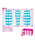 MC-BL pre molded wax teeth - blocks
